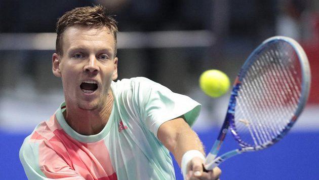 Český tenista Tomáš Berdych si finále v Petrohradu nezahraje.