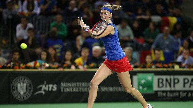 Sedmá hráčka světového žebříčku Petra Kvitová.