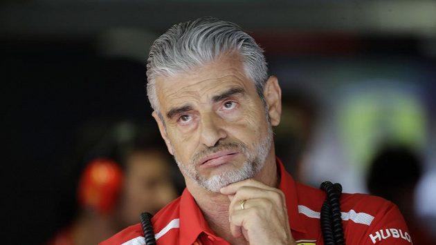 Maurizio Arrivabene skončil v pozici šéfa týmu Ferrari.