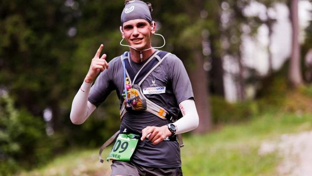 Rainer Predl je velmi mladý běžec. Přesto drží několik světových rekordů.