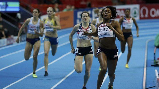 Zuzana Hejnová (zcela vlevo) se pokoušela získat bronz, ale bylo to marné.