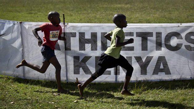 Běžci Keni mohou přijít i o olympijské hry. Ilustrační foto.