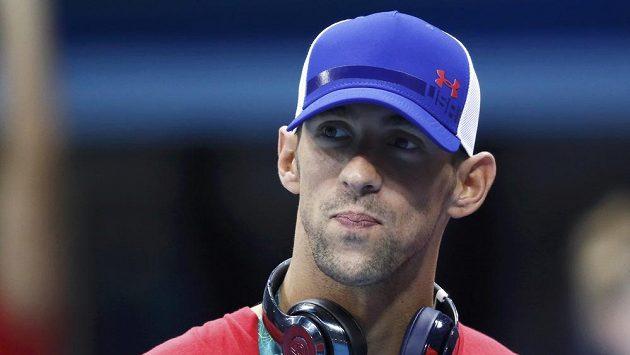 Americký plavec Michael Phelps ponese na slavnostním zahájení vlajku své země.