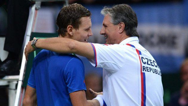 Kapitán Jaroslav Navrátil na služby Tomáše Berdycha spoléhat v Davis Cupu nemůže, šanci dostanou mladíci