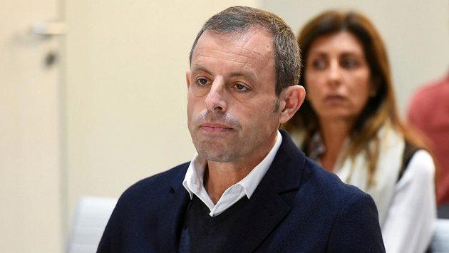 Bývalý šéf fotbalové Barcelony Sandro Rosell.
