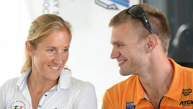 Miroslava Knapková a Ondřej Synek