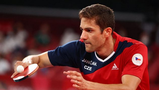 Lubomír Jančařík v zápase druhého kola.