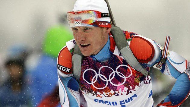 Rybářův svěřenec Ondřej Moravec šel na trati závodu na 15 km s hromadným startem zarputile za medailí.