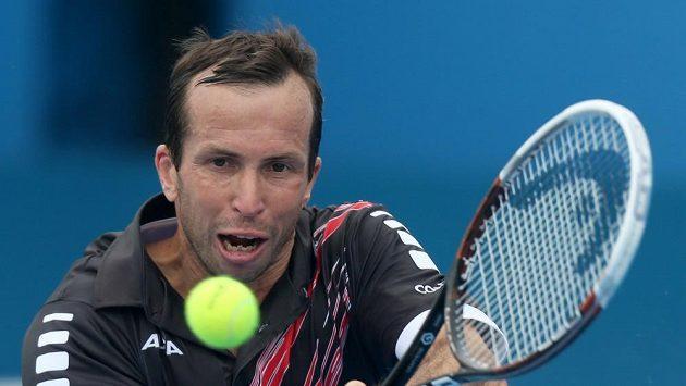 Český tenista Radek Štěpánek na Australian Open vzdal duel se Slovincem Kavčičem.