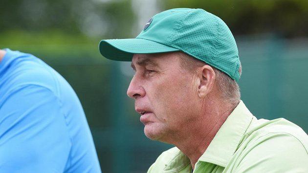 Bývalý tenista Ivan Lendl (na snímku) na turnaji UniCredit Czech Open v Prostějově.