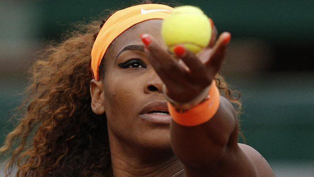 Serena Williamsová na letošním French Open.