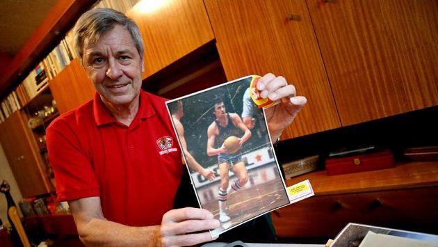 Bývalý reprezentant české basketbalové reprezentace Kamil Brabenec.