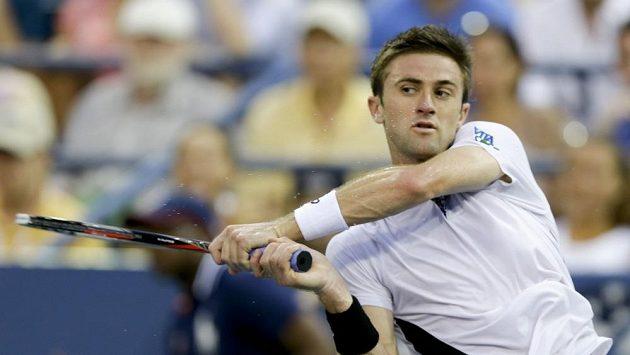 Jako poslední z tenistů Spojených států vypadl v neděli Tim Smyczek.