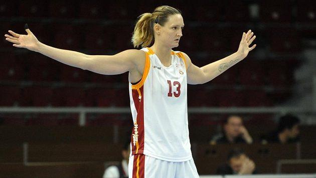 Za velmi vyrovnané považuje česká basketbalistka Petra Kulichová (na snímku z 13. dubna) letošní Final Four Evropské ligy.