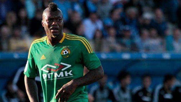 Francouzský fotbalista Djibril Cissé