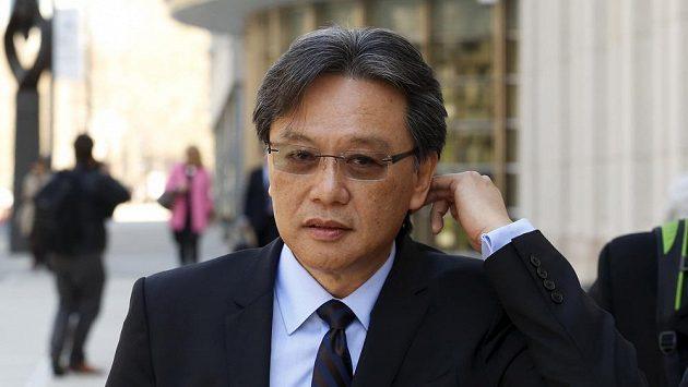 Bývalý prezident Kostarické fotbalové federace Eduardo Li v newyorském Brooklynu.
