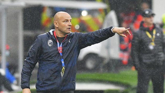 Trenér Plzně Adrian Guľa.