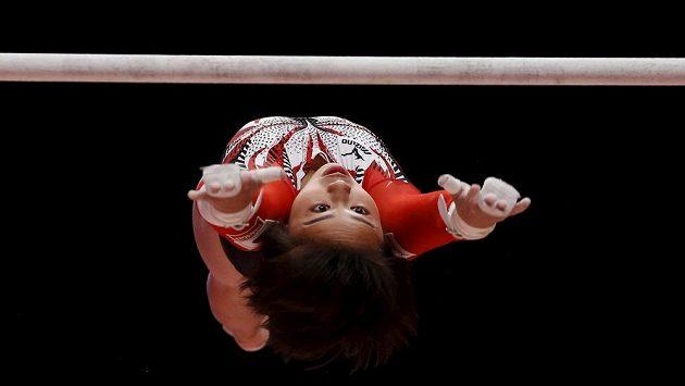 Japonská gymnastka Mai Murakamiová na MS.