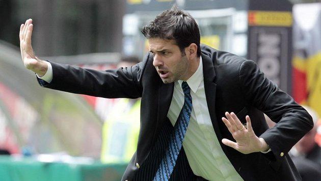 Trenér Interu Milán Andrea Stramaccioni