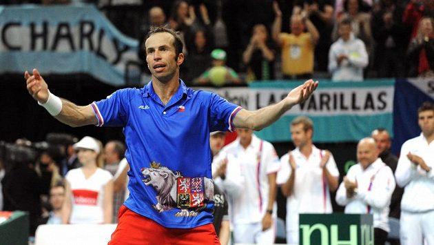 Radek Štěpánek by mě v týmu Novaka Djokoviče narozdíl od Agassiho pokračovat i nadále.