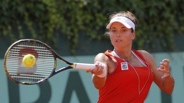 Česká tenistka Petra Cetkovská.