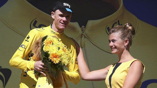 Britský cyklista Chris Froome uhájil žlutý trikot i po stoupání na Alpe d´Huez.