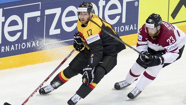 Marcus Kink z Německa a Aleksandrs Jerofejevs z Lotyšska.