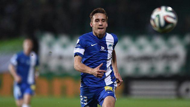 Liberecký záložník Josef Šural přispěl dvěma góly k vysoké výhře Slovanu nad Znojmem.