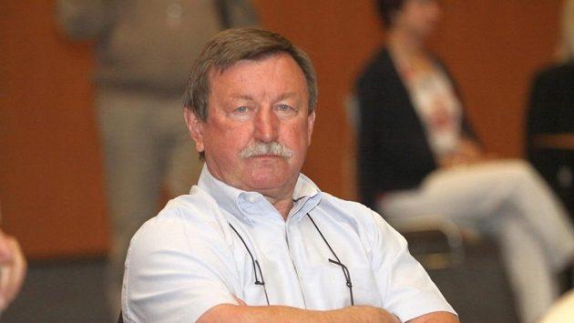 Čerstvý šéftrenér hokejistů Pardubic Vladimír Martinec.