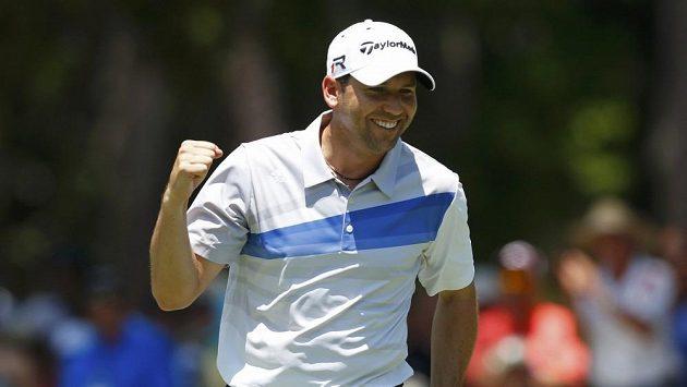 Španělský golfista Sergio García.