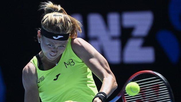 Česká tenistka Marie Bouzková v Melbourne.