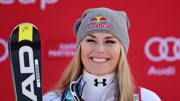 Americká lyžařka Lindsey Vonnová chystá v lednu svůj návrat na svahy.