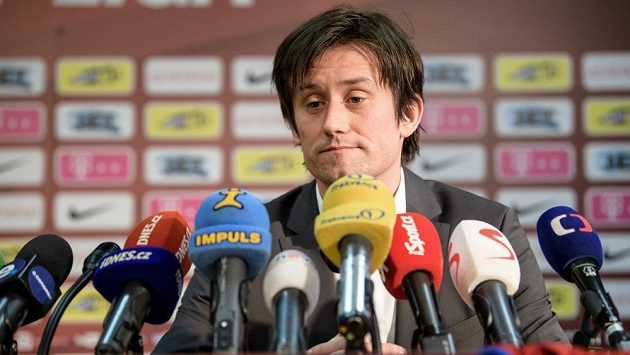 Tomáš Rosický byl na Letné uveden do funkce sportovního ředitele.