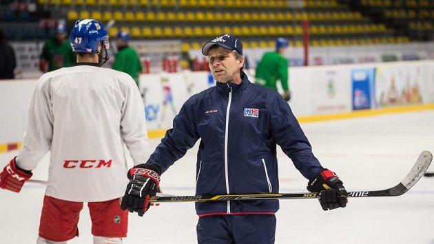Reprezentační trenér Josef Jandač.
