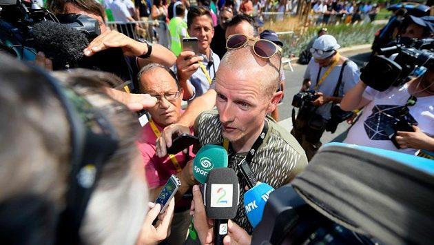 Bývalý dánský cyklista Michael Rasmussen během letošní Tour.