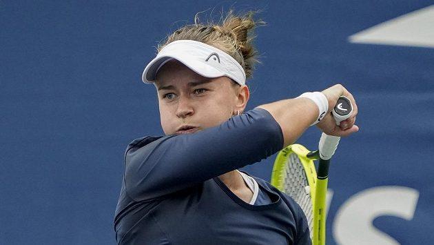 Česká tenistka Barbora Krejčíková ve druhém kole US Open nezaváhala.