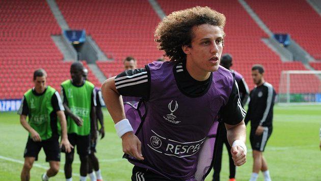 Brazilský obránce David Luiz.