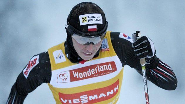 Polská běžkyně na lyžích Justyna Kowalczyková na trati v Kuusamu.