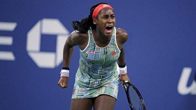 Americká teenagerka Cori Gauffová válí i na US Open.