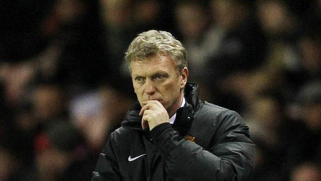 Kouč Manchesteru United David Moyes.