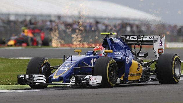 Brazilec Felipe Nasr z týmu Sauber.
