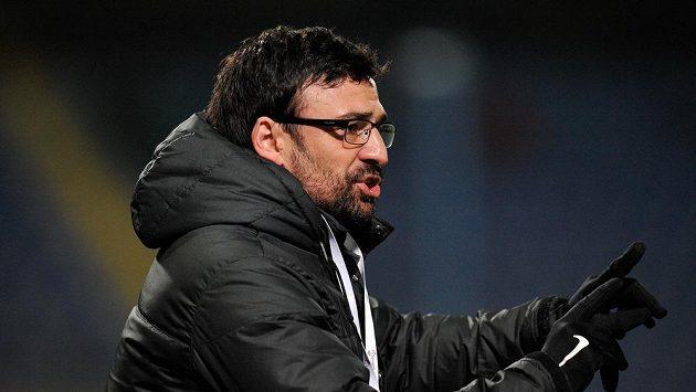 Liberecký trenér Samuel Slovák.
