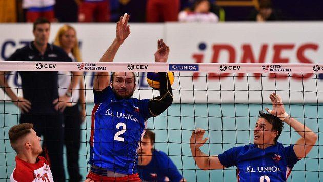 Čeští volejbalisté v předposledním pátém kole Evropské ligy prohráli na Ukrajině 0:3 a do Final Four se neprobojovali. (ilustrační foto)