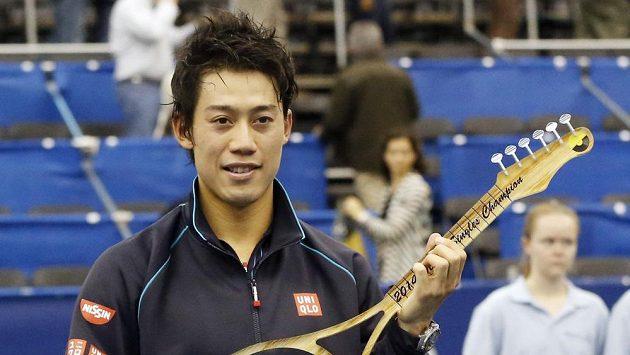 Japonec Kei Nišikori obhájil titul v Memphisu.