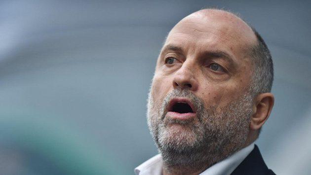 Trenér Vladimír Kýhos.