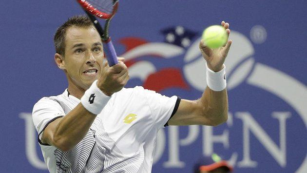 Lukáš Rosol během úvodního kola US Open.