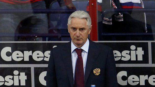 Trenér ruského národního týmu Zinetula Biljaletdinov