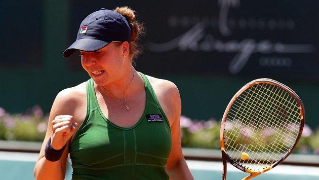Ruská tenistka Alisa Klejbanovová v roce 2011 krátce před atakem rakoviny.