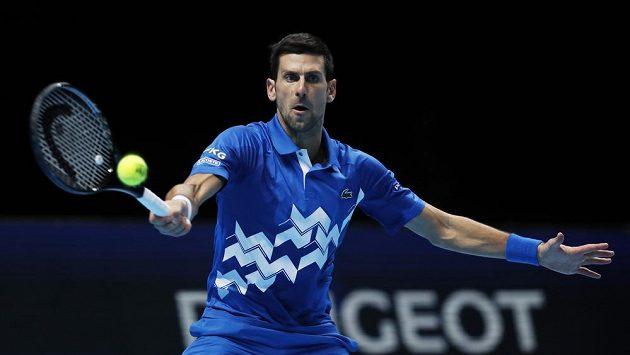 Srbský tenista Novak Djokovič, ilustrační foto.