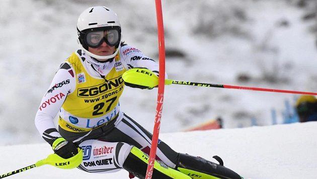 Česká lyžařka Martina Dubovská